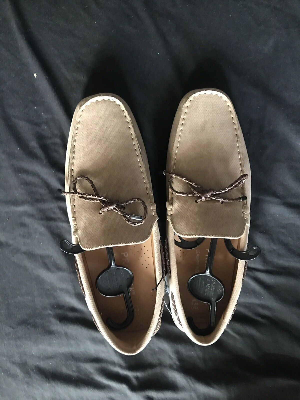 Brand New Mens Smart Casual Brown Loafers Shoes With String Laces Design. Size 9