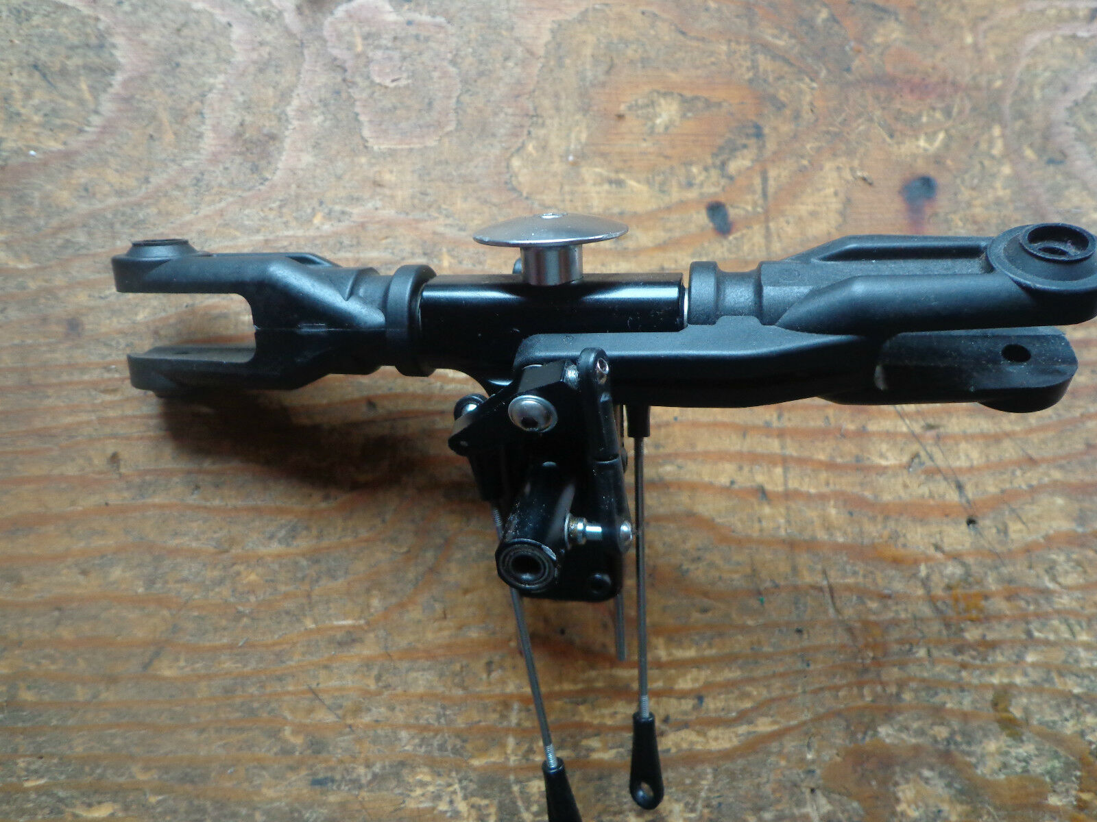 SYNERGY N9 MAIN redOR HEAD ASSEMBLY WITH FLYBAR SEESAW
