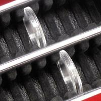 Coin Capsule Holder Storage Box Holds 50 Direct Fit Silver Dollar Airtites 15