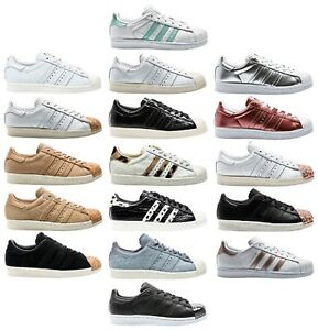 d4a0193f4c Image is loading Adidas-Superstar-W-80s-Rt-Foundation-Animal-Ladies-