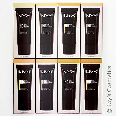 "3 NYX High Definition Foundation ""Pick Your 3 Color""  *Joy's cosmetics*"
