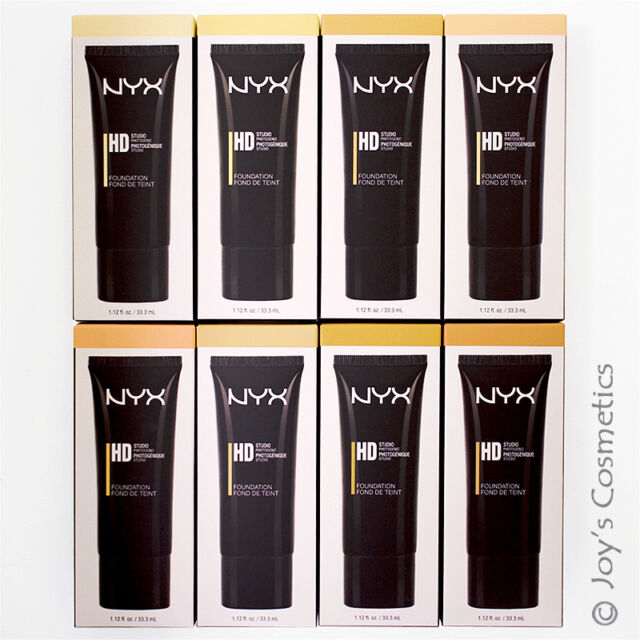 """3 NYX High Definition Foundation """"Pick Your 3 Color""""  *Joy's cosmetics*"""