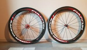 Fulcrum Racing Speed Xlr Carbon Tubular 11 Speed Campagnolo Freehub Ebay