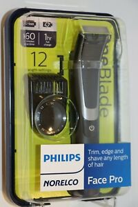 PHILIPS-NORELCO-ONEBLADE-ONE-BLADE-FACE-PRO-Hybrid-Electric-Trimmer-Shaver-NEW