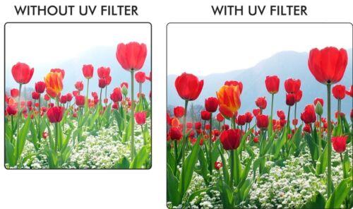 Adaptador para Canon PowerShot SX540 SX70 SX60 SX50 SX40 HS SX30 67mm Filtro UV