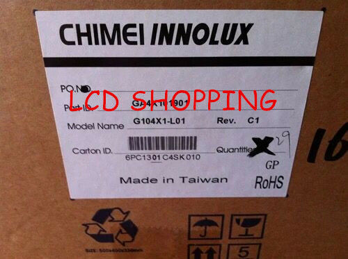 "New and original for  G104X1-L01 CHIMEI 10.4/"" LCD PANEL  DHL//FEDEX Ship"