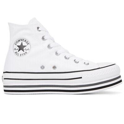 Scarpe Converse Chucks Taylor All Star Platform Layer Hi Codice 564485C 9W | eBay