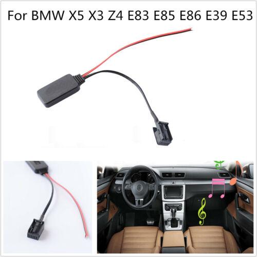 For BMW X3 Z4 E83 E85 E86 E39 E53 Bluetooth Receiver Module Audio Music Adapter