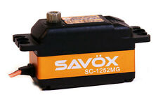 Savox LOW PROFILE DIGITAL SERVO SUPER SPEED .07 / 97.2 SC1252MG SAVSC1252MG