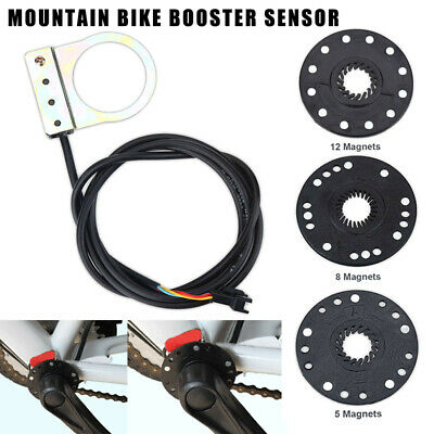 E-bike Electric Bicycle Scooter Pedal Assist Sensor 5//8//12 Magnet Type HE
