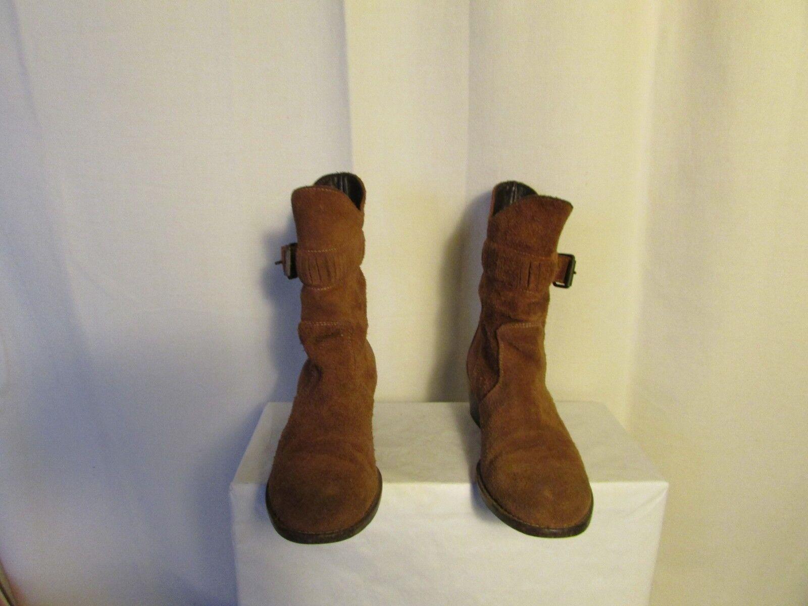 Stivali stivali MOMA camoscio camoscio camoscio cognac 37 e985af