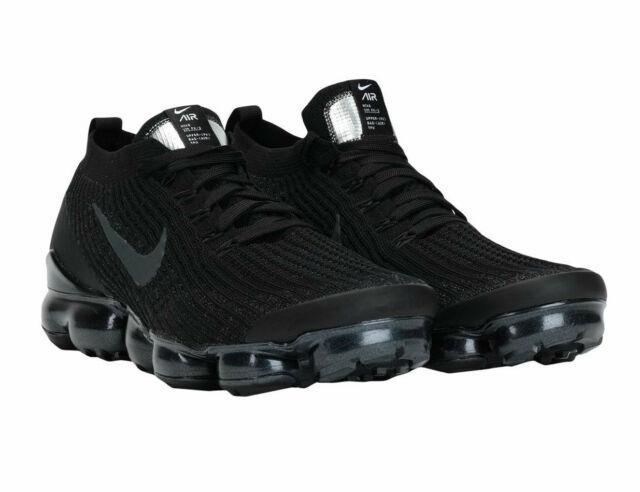 Nike Air Vapormax Flyknit 3 AJ6900 004 Sneaker Uomo Nero Scarpe Da Ginnastica