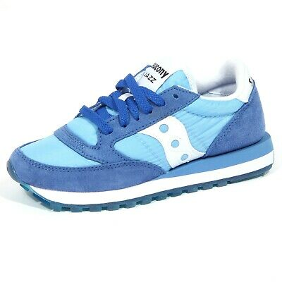 Saucony Jazz O Denim Shoes in Light Blue | Women's Shoes