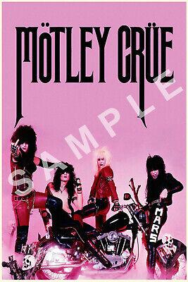 Motley Crue 8x10 Photo Print