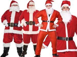 Père Noël Déguisement Père Noël Costume Homme Adulte Costume ... e1099770518f