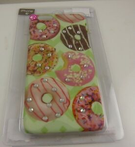 fits-iPhone-6-cel-phone-case-Donuts-theme-bling-crystals-donut