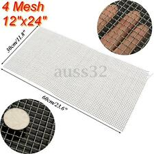 """60cm 304 Stainless Steel Mesh #8 .035 Wire Cloth Screen 12/"""" 30cm 24/"""" Tool US"""