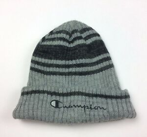 Vintage Champion Ski Hat Signature Spell Out Logo Winter Snow Rare ... 5a640818e53