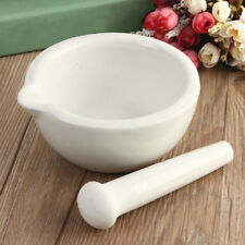 1 set 6ml Topping Actual Porcelain 1 Mortar + 1 Pestle Mixing Grinding Bowl Tool
