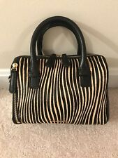 item 3 Vera Bradley Mini Marlo Crossbody in Sycamore Uptown Stripes Leather  NWT -Vera Bradley Mini Marlo Crossbody in Sycamore Uptown Stripes Leather  NWT f0c87b3da0582