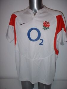 65fe77ed3795 Image is loading England-Rugby-Union-Adult-Large-Shirt-Jersey-Nike-