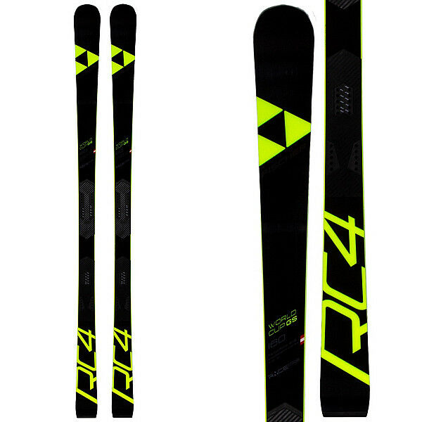 2019 Fischer Worldcup GS Jr RC4 Skis  with Fischer Curve Booster Race Plate  select from the newest brands like