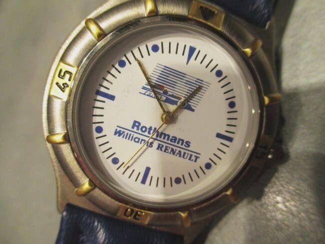 rougehmans Horloge Formule 1 Williams Team pour , Neuf, non Porté, Neuf