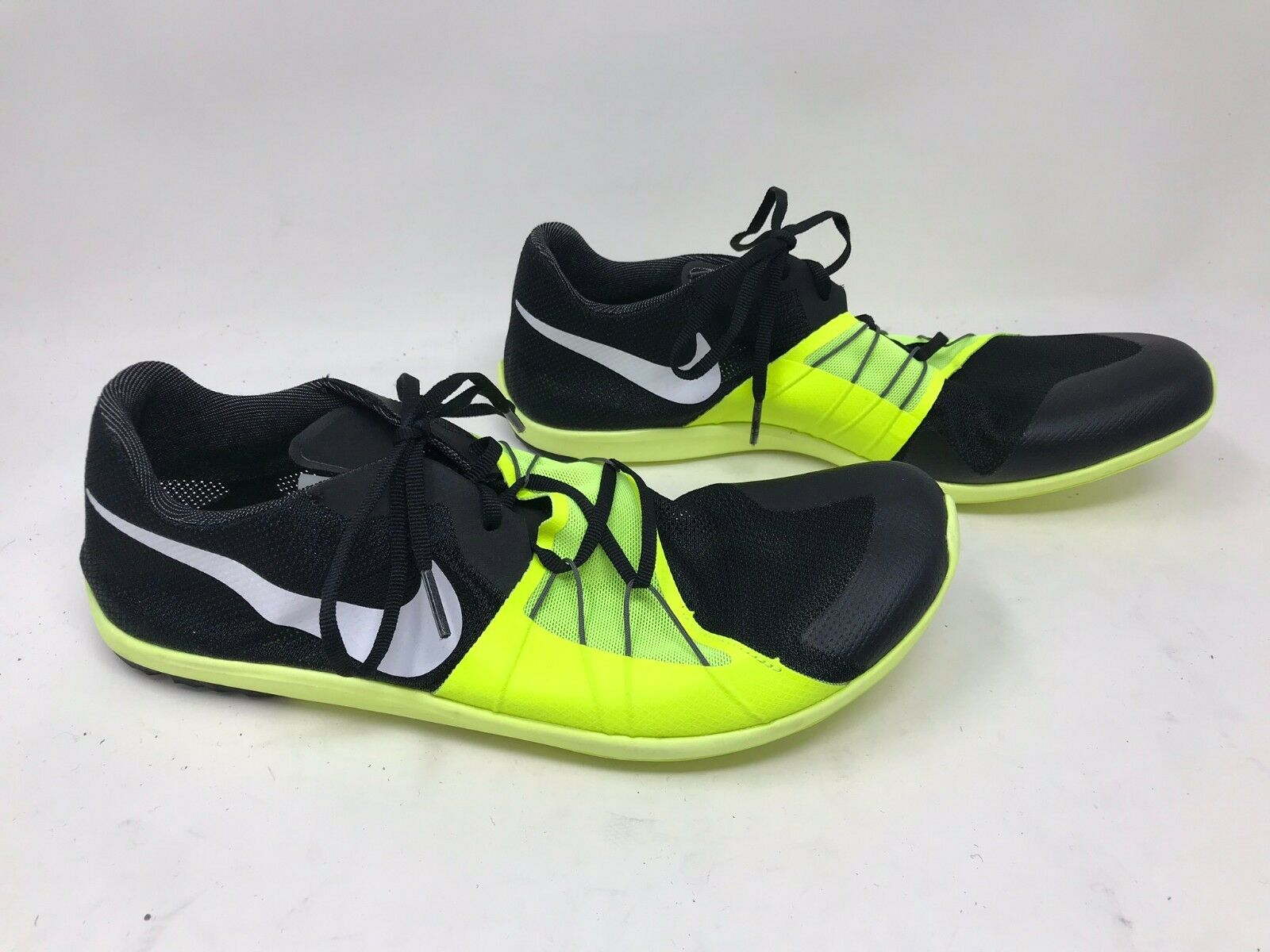 New  Men's Nike Zoom Forever XC 5 Black Vivid Yellow 904723-017 5X