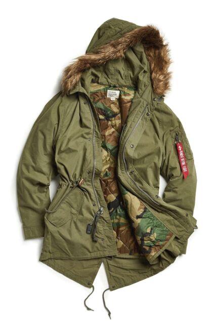 Olive Green Parka Jacket