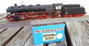 Maerklin-3085-H0-Dampflok-BR-003-160-9-mit-FEHLDRUCK-der-DB-Epoche-4-sehr-gut