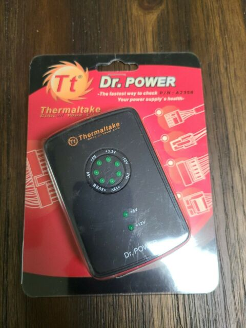 Dr. Power Thermaltake P/N: A2358 - Power Supply / Power Tester NOS Radio Shack
