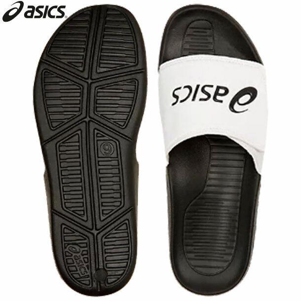 Asics Japan Soccer Football Sports Relaxing Shower Sandal 1173A005 bianca