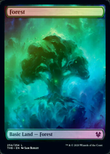 THB Foil Nyx FOREST 1x Rare Theros Beyond Death MTG NM