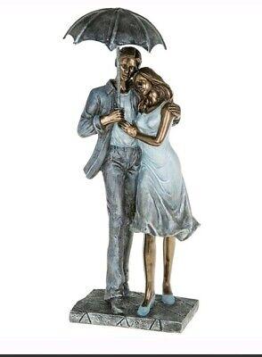 Shudehill Giftware Amore COUPLE Romance Promenade Figurines Ornement Love 285323