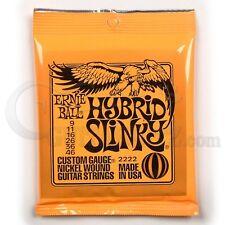 Ernie Ball 2222 cuerdas para guitarra eléctrica híbrida Slinky 9-46