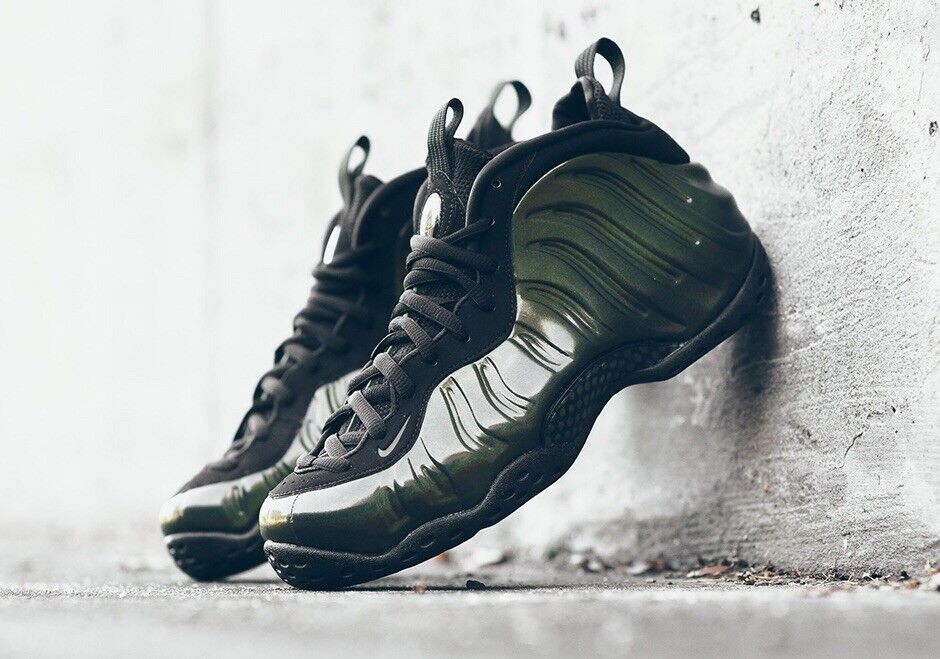 Nike Air Foamposite One UK 11.5 EU47 Legion Green Black