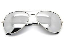24db73da0cb item 4 Men Women Vintage Retro Aviator Sunglasses Silver Mirrored Lens Metal  Frame -Men Women Vintage Retro Aviator Sunglasses Silver Mirrored Lens Metal  ...