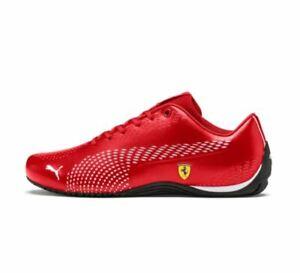 Sale-NIB-Men-039-s-Puma-FERRARI-SF-DRIFT-CAT-5-ULTRA-II-Shoes-306422-05-Red