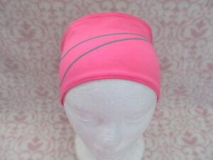 Nike Dri-Fit Swoosh Running Headband Vivid Pink Silver Adult Unisex ... 0168be708e4