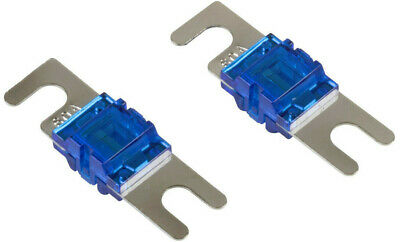 2x MINI-ANL FUSE CAR AUDIO 60 AMP 60AMP PAIR OF FUSES 60A CHEAP