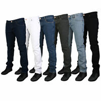 Mens Skinny Fit Jeans Slim Fit Jeans New Look Stretch Denim All waist sizes
