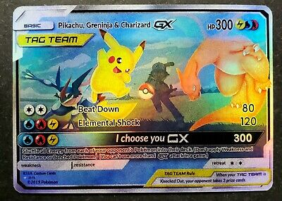 Pikachu Holo Custom Pokemon Card