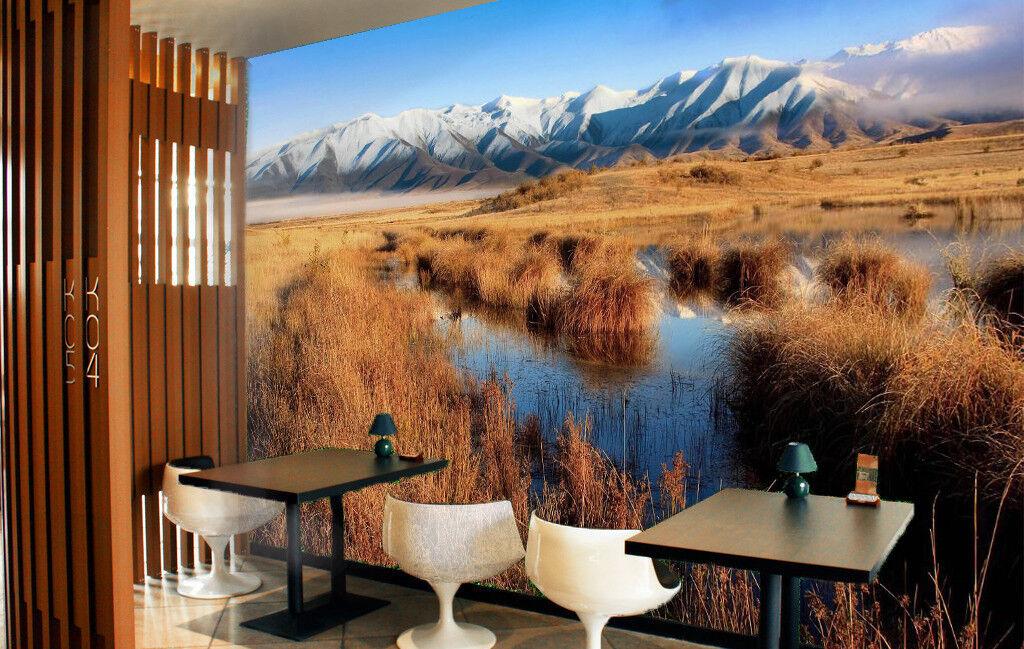 3D Creek Lawn 795 Wallpaper Mural Wall Print Wall Wallpaper Murals US Summer