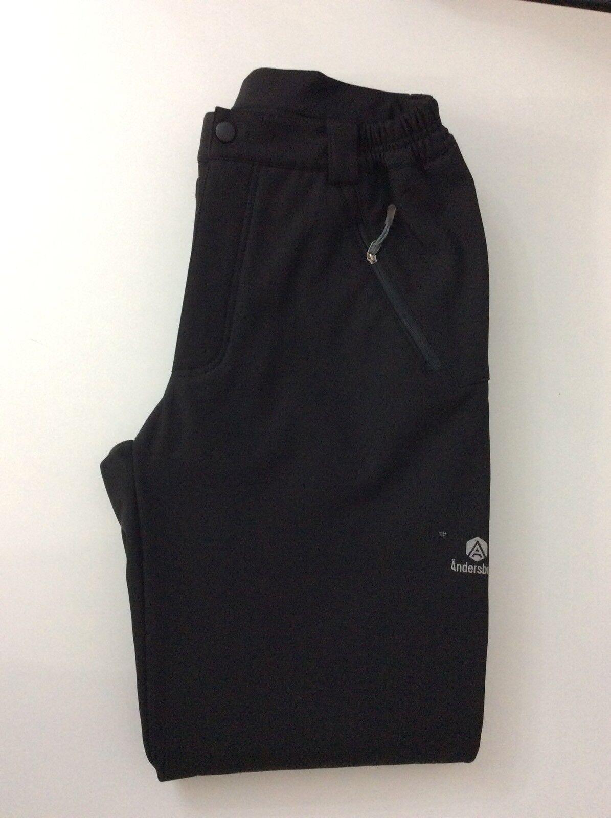 "Andersbrug Mens Walking Trousers, Padded, Neoprene, Size Small, Waist 28-32"" Vgc"