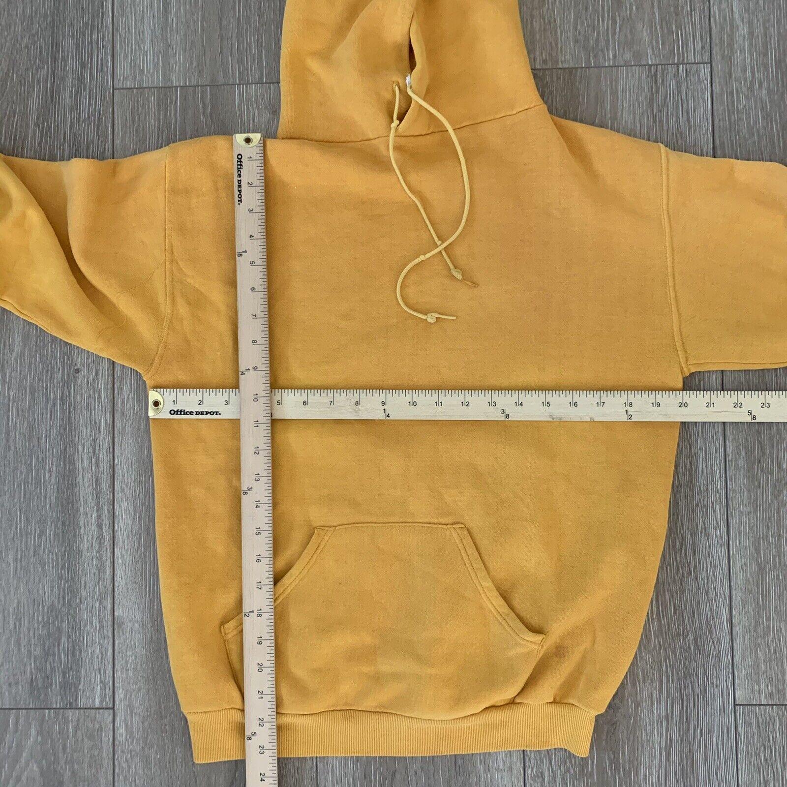Vintage 70s Hoodie Sweatshirt Junior Olympics Rus… - image 7