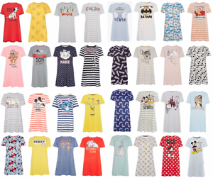 Ladies FRIENDS Nightshirt Women/'s Nightdress Nightie Pyjamas UK 6 to 24 Primark