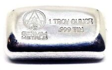 Skull and Crossbones Grimm Metals 1 Troy Ounce .999 Fine Tin Bullion Round
