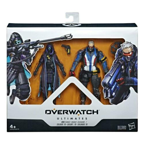 OVERWATCH ULTIMATES ANA /& SOLDIER 76 TWIN PACK ACTION FIGURE HASBRO SET