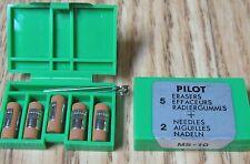 15 Pilot Ms10 Eraser Refills For Mechanical Pencils Pil70001 Three 5 Packs