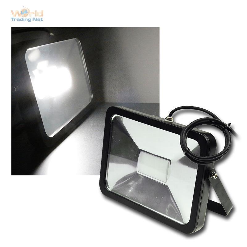 50W LED Fluter 12-24V DC IP65 daylight zB an Wohnmobil Flutlicht Strahler